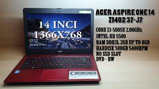 REVIEW LAPTOP HARGA 2 JUTAAN WORTH IT Acer one z1402 second