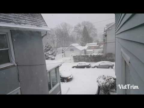 Storm of the decade! (New Rochelle, NY)