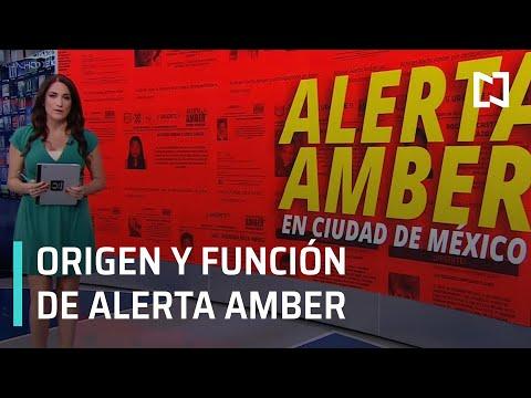 ¿Cómo funciona la Alerta Amber en la CDMX? - Despierta