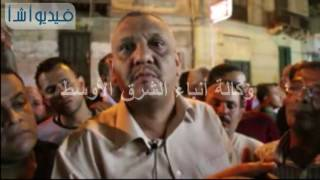 بالفيديو :  الشاهد الاول لحريق الكنيسة مارى مينا