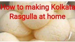How to make Rasgulla at home |Kolkata rosgulla| Gujarat| India | Kolkata Misti