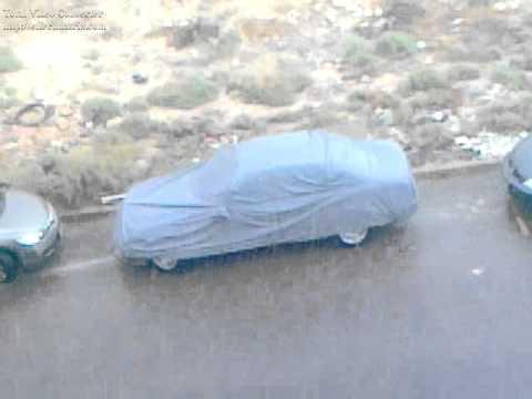 Heavy Rain in Zarqa