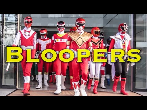 BLOOPERS: Red is Forever [Power Rangers]