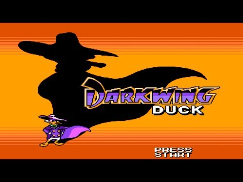 Darkwing Duck. NES [No Death Walkthrough (All Secrets) / Прохождение без смертей (все секреты)]