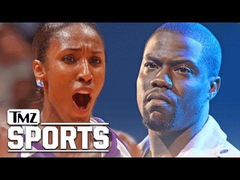 Kevin Hart Trolled By WNBA Legend Lisa Leslie | TMZ Sports