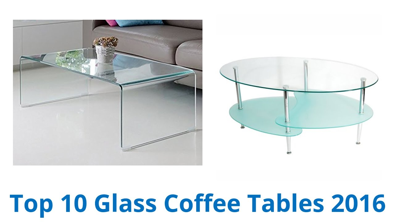 10 Best Glass Coffee Tables 2016