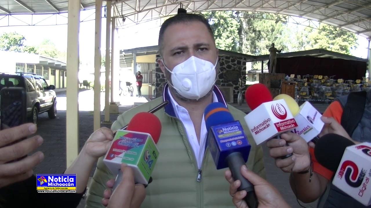 Edil de Zacapu continúa dando resultados con transparencia al municipio