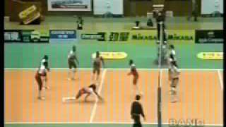 Cuba Vs Brasil 5to set Semifinal Grand Prix 96