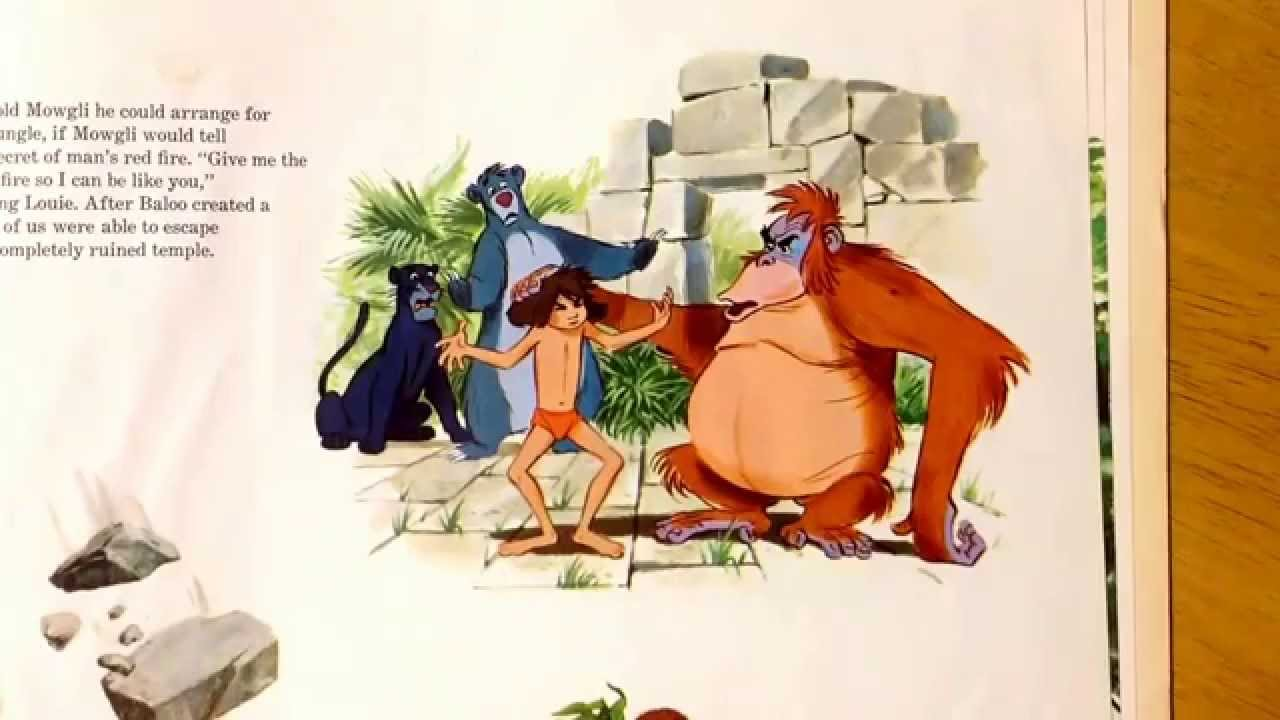 The Jungle Book On Vinyl Side 2