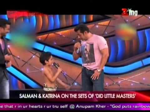 Salman & Katrina on the Sets of DID Little Master's
