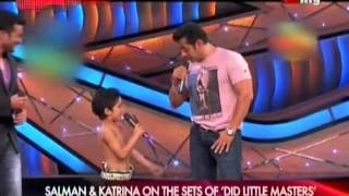 vuclip Salman & Katrina on the Sets of DID Little Master's