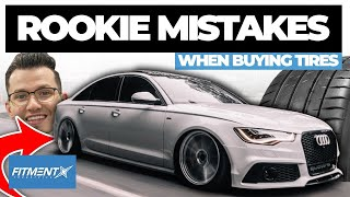 Cover images Rookie Mistakes When Buying Tires