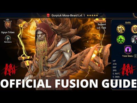 Official Fusion Guide: Gurptuk Moss-Beard I Raid Shadow Legends