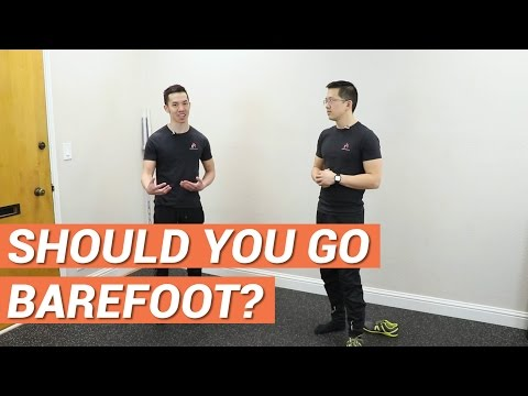 Is running or walking barefoot better for you?