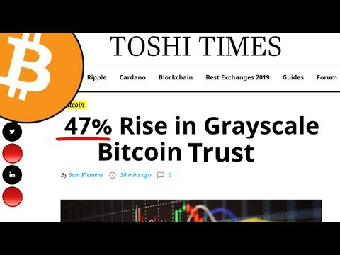 Grayscale bitcoin investment trust premium
