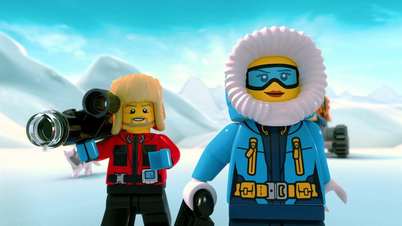 Lego City Arktis Film Teil 1 Deutsch Youtube