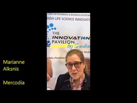 Mercodia - a short overview of The Innovation Pavilion by Sweden at Arab Health 2018