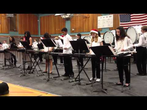 """Wells Middle School Drum Line, plays """"Take Me Out to the Ball Game"""""""
