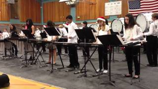 "Wells Middle School Drum Line, plays ""Take Me Out to the Ball Game"""