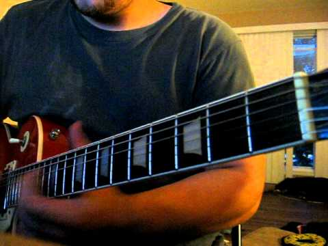 A.D. victoriam Blood is the price of glory - Ensiferum guitar cover