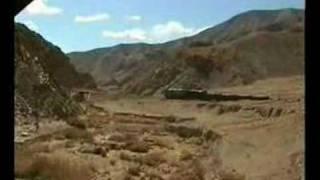 Llanta - Potrerillos train up Andes in Chile