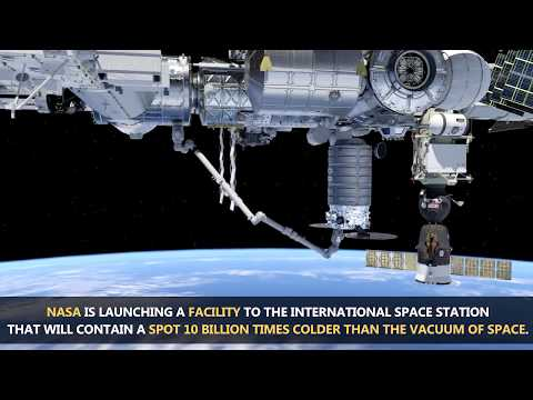 Cold Atom Lab Launching on Board Orbital ATK Mission to Space Station