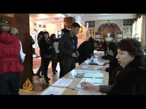 Allegations of voter fraud in Kazakhstan