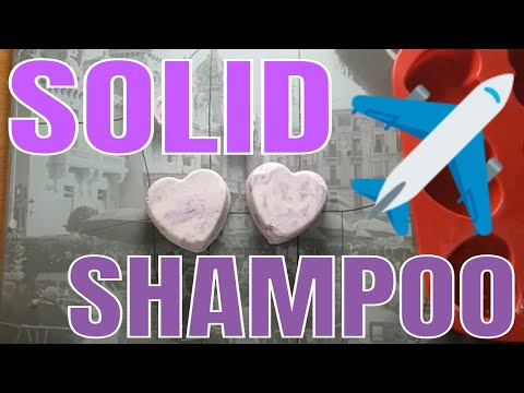 How To Make Solid Shampoo Bars - Only 4 Ingredients
