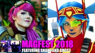 MAGFest 2018 Cosplay Video Featuring Snake and Ghost