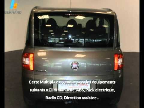 fiat multipla occasion en vente chalon sur sa ne 71 par citro n chalon sur sa ne youtube. Black Bedroom Furniture Sets. Home Design Ideas