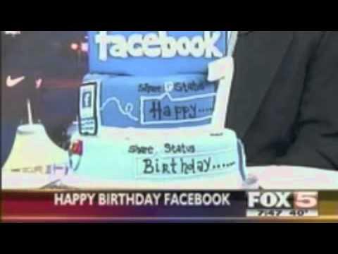 Facebook's 7th Birthday Fox5 Facebook Friday Segment