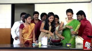 VijayTv Kana Kaanum Kalangal team making Diwali sweet | Diwali Special