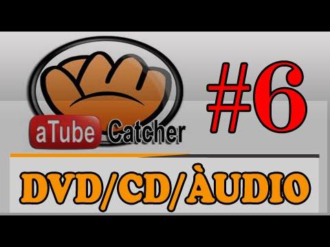 Como gravar CD, DVD e Áudio com Atube Catcher - 2015