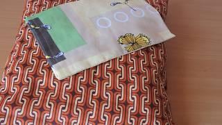 Второй способ пошива НАВОЛОЧКИ. Для начинающих шить.