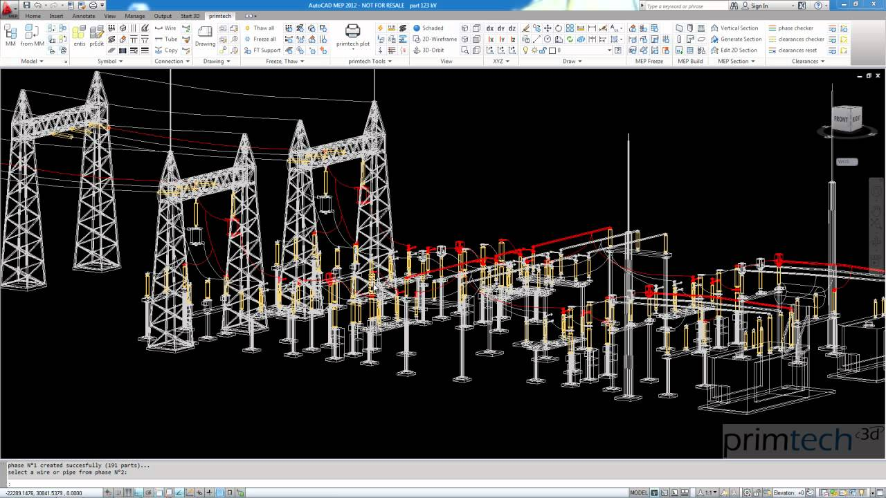 Substation design phase checker easy fast and for Substation design