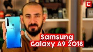 Samsung'un dünyanın ilk 4 kameralı akıllı telefonu Galaxy A9 testte...
