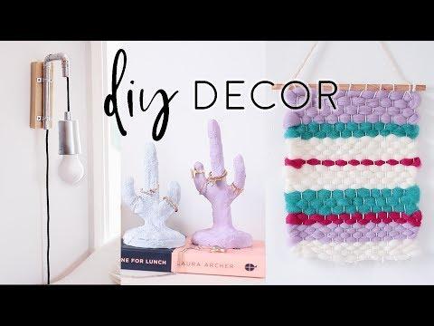 DIY Room Decor Ideas for Summer 2017 | Home Decor on a Budget