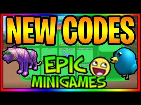 Brand New Working Epic Minigames Codes April 2020 Roblox