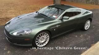 2007 Aston Martin Db9 15 Minute Drive Youtube