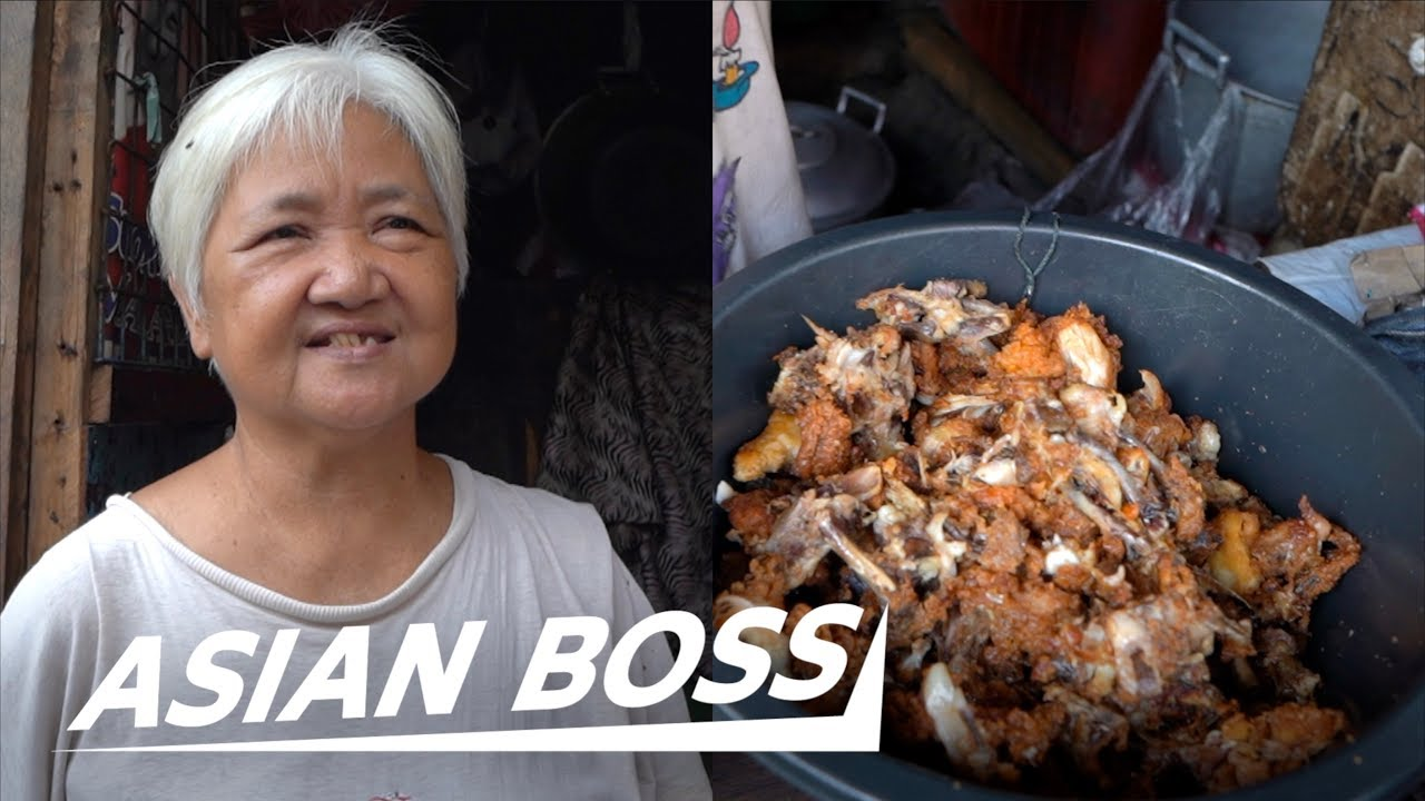 This Grandma Cooks Garbage Food Waste To Survive In The Philippines | THE VOICELESS #15
