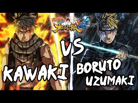 KAWAKI VS ADULT BORUTO UZUMAKI! EPIC BATTLE! MATA MISTERIUS! - BORUTO'S TALE DLC MOD