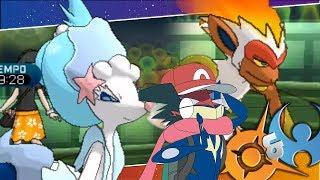 Gambar cover ¡MONOTEAM LOS MEJORES INICIALES! Pokémon Sol y Luna: COMBATE