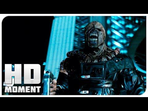 Немезис не подчинился приказу убить Элисс - Обитель Зла 2: Апокалипсис (2004) - Момент из фильма