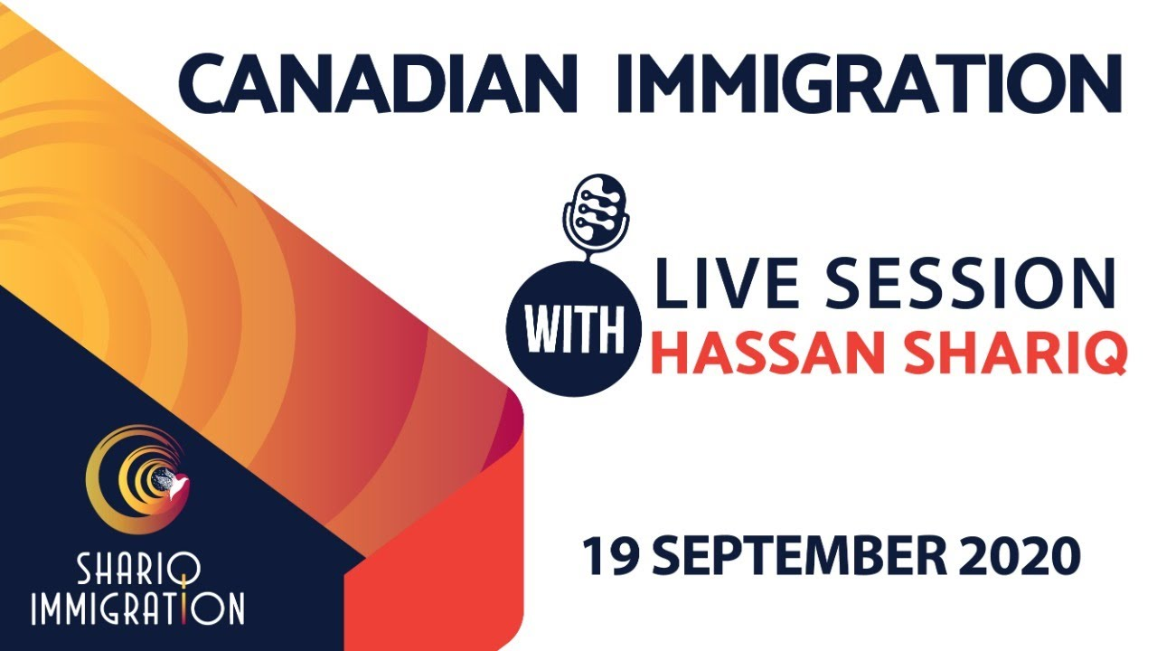 Canadian Immigration Live Session with Hassan Shariq (RCIC)