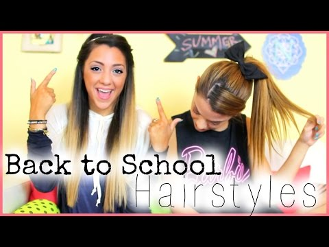 5 Quick And Easy Back To School Hairstyles With NikiAndGabiBeauty!