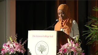 Graduate Faatimah Knight & Imam Khalid Latif on Zaytuna College