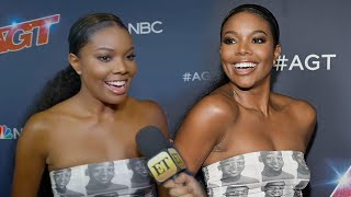 Gabrielle Union Rocks Dress COVERED in Her Husband Dwyane Wade's Face!