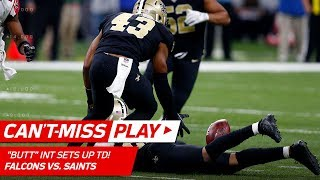 """Lattimore's Amazing """"Butt"""" INT Sets Up Ted Ginn's Catch-'n-Run TD 🦄 