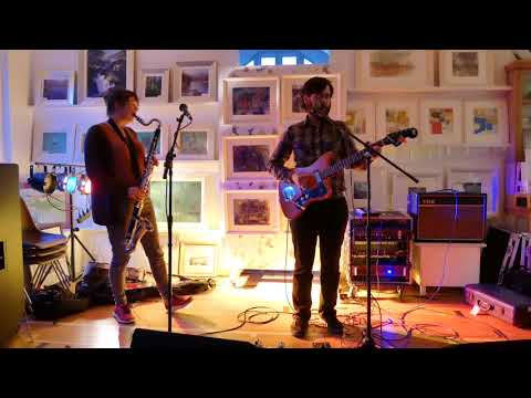 """Canadian band The Burning Hell play """"Grown-Ups"""" at Braemar Gallery session, Scotland"""