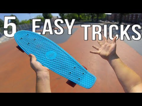 5 Easy Beginner Penny Board Tricks